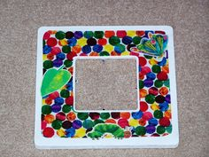 The Very Hungry Caterpillar picture frame