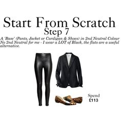 Start From Scratch - Step 7 by charlotte-mcfarlane on Polyvore featuring Uniqlo, H&M and Chinese Laundry