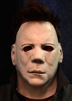 Halloween II Costume Face Half-Mask Adult