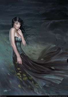 Wind - art by Yuehui Tang