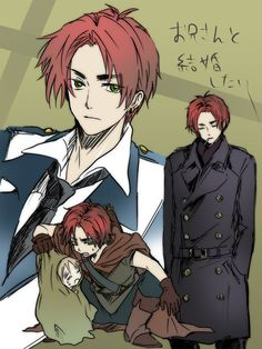 Hetalia- Scotland being mean to poor cute little England.