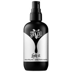 Shop Kat Von D's Lock-It Makeup Setting Mist at Sephora. This refreshing, weightless micro-mist locks in makeup for up to 24 hours