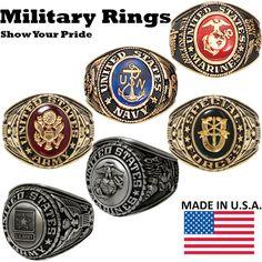 Usmc Ring, Us Navy Rings, Army Rings, Delete Instagram, Military Jewelry, School Rings, College Rings, Mens Stainless Steel Rings, Marine Corps