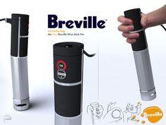 Breville Hand Blender by Sam Cameron, via Behance