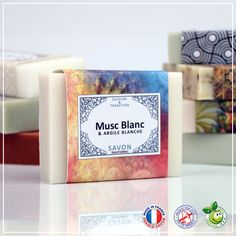 Savon solide pur végétal au Musc Blanc et à l'Argile Blanche . Traditional, How To Make, White Clay, Fragrance