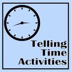 telling time activities for math centers Teaching Money, Teaching Time, Student Teaching, Teaching Ideas, Telling Time Activities, Math Activities, Math Stations, Math Centers, Math Classroom