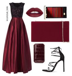 """""""Untitled #128"""" by nochnaifyria on Polyvore featuring Aidan Mattox, Jimmy Choo, Aspinal of London, L'Oréal Paris and Stuart Weitzman"""