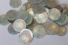 Large round shiny treble clef picture embellishments, 10 glitter rhinestone glue on silver color 25 mm rhinestone crystal bling flatbacks