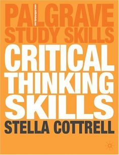 developing critical thinking skills for effective reading There is a variety of reading strategies, it is important to use ones that suit the purpose for reading and that are effective for you reflection this involves spending a few moments thinking about what you know about the subject before reading.