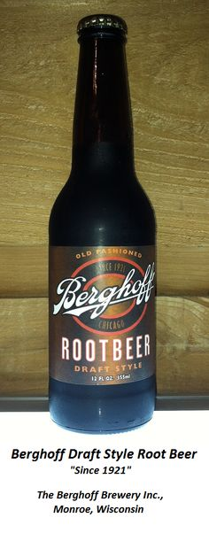 ROOT BEER REVIEW, Berghoff Draft Style Root Beer: Slight vanilla aroma. Initial flavor is rich and rooty, and remarkably not so sweet. The presence of yucca extract in this recipe brings a noticeable maltiness and creaminess. Aftertaste has similarities to vanilla cola. Could stand to be a little bit sweeter, but this is still a quality beverage.