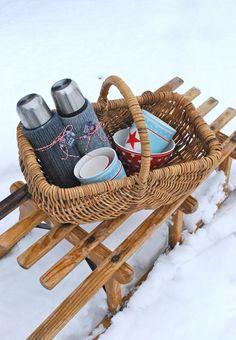 Winter picknick