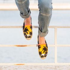 Originating in medieval Catalonia, these rope-soled shoes have always been welcome at the beach, but this season they bring a holiday feel to everyday casualwear. Look out for tropical print varieties from Saint Laurent and sneaker hybrids from Valentino.
