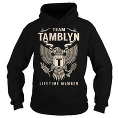 Team TAMBLYN Lifetime Member - Last Name, Surname T-Shirt #name #tshirts #TAMBLYN #gift #ideas #Popular #Everything #Videos #Shop #Animals #pets #Architecture #Art #Cars #motorcycles #Celebrities #DIY #crafts #Design #Education #Entertainment #Food #drink #Gardening #Geek #Hair #beauty #Health #fitness #History #Holidays #events #Home decor #Humor #Illustrations #posters #Kids #parenting #Men #Outdoors #Photography #Products #Quotes #Science #nature #Sports #Tattoos #Technology #Travel…