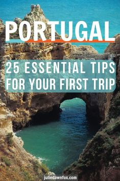 25 Essential Tips For Your First Trip To Portugal - Portugal is without doubt one of the most beautiful countries in Europe, and these 25 tips tell you - Road Trip Portugal, Portugal Porto, Best Beaches In Portugal, Portugal Vacation, Places In Portugal, Portugal Travel Guide, Visit Portugal, Europe Travel Guide, Spain And Portugal