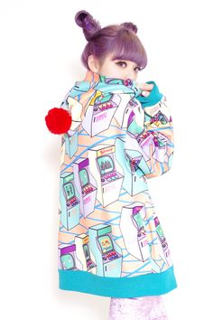 Japanese Fashion Brand, galaxxxy is essentially madcap world influenced by past and future music, Japanese Anime, and comet scattered virtual world. Japanese Street Fashion, Tokyo Fashion, Harajuku Fashion, Kawaii Fashion, Lolita Fashion, Korea Street Style, Tokyo Style, Future Music, Pastel Grunge