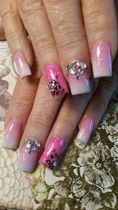 Nails Nail Designs, Nails, Beauty, Workout Exercises, Finger Nails, Ongles, Nail Design, Nail, Beauty Illustration