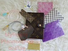 Agenda PM Dashboard Divider Bookmark Clip Set Louis Vuitton