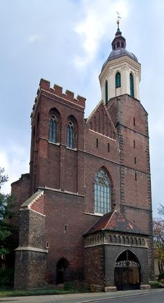Cathedral of the Ascension of Holy Virgin Mary in Opava, Silesia, Czechia #architecture #Czechia #churches