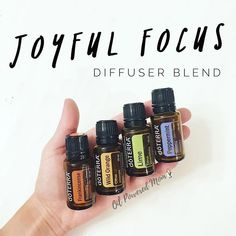 """Let's get this Monday! Reading about Focus in my current leadership development book """"Everything Counts"""". It's so good! 3-5 drops each in a diffuser. Work away! This is going to be an amazing week, my friends :)"""