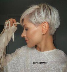 Pixie Haircut Styles, Short Pixie Haircuts, Short Hairstyles For Women, Pixie Styles, Casual Hairstyles, Short Hair Cuts For Women Pixie, Asymmetrical Pixie Haircut, Office Hairstyles, Bun Styles
