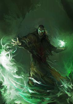Classificação de relêvancia 1 _____________________________ Palavras-chave: Fantasia medieval, feiticeiro, magia profana, mago negro, necromante. _____________________________ www.deviantart.com