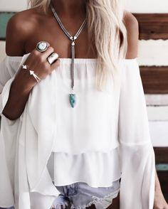 Cute Bohemian Style Ideas For Inspiration - My Cute Outfits Boho Chic, Bohemian Style, Estilo Boho, Bohemian Jewellery, Jewellery Nz, Oxidised Jewellery, Gypsy Jewelry, Look Boho, Looks Street Style