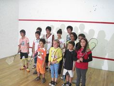 Torneo de Squash para los pequeños tadeístas.