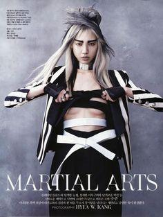 """Martial Arts"" : Soo Joo Park : Vogue Korea June 2013 : Hyea-Won Kang"