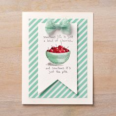 Giggle Greetings Clear-Mount Stamp Set by Stampin' Up!
