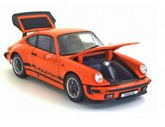 The Kyosho Porsche 911 Carrera 3.2 Orange is part of the fantastic Kyosho 1/43 diecast model car collection.