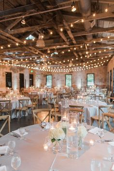 Stef and Bobby's wedding day in Baltimore, Maryland consisted of lots of candlelight, soft blues, and touches of shimmery metallics. Rustic Country Wedding Decorations, Country Style Wedding, Country Weddings, Vintage Weddings, Lace Weddings, Wedding Dresses, Wedding Humor, Wedding Tips, Barn Wedding Lighting