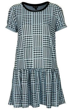 CONCEPT: gingham/geometric slip under sheer pastel gradient fabric Pastel Gradient, Color Blocking, Colour Block, Gingham Dress, Summer Looks, My Outfit, Preppy, What To Wear, Topshop