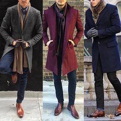 1, 2, or 3? Choose your favorite outfit!! #GentlemenCircle . .. . via @aleksmusika #suitup #ootd #bespoke #dapper #fashionblog #mensfashion #menstyle #mensstyle #menswear #gentlemen #moda #sartorial #menaccessories #pocketsquare #suitandtie #menswear #necktie #classy #details #gentwith #men