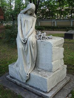 Alexander Nevsky monastery cemetery