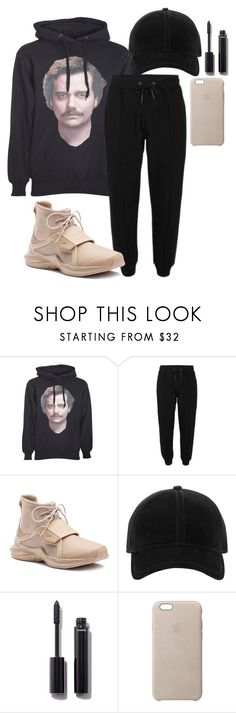 """""""Untitled #2414"""" by mfr-mtz ❤ liked on Polyvore featuring P.A.R.O.S.H., Puma, rag & bone, Chanel and Apple"""