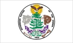photos of american flag with indian on it   AMERICAN INDIAN TRIBAL FLAGS - Forest County Potawatomi and Oneida ...