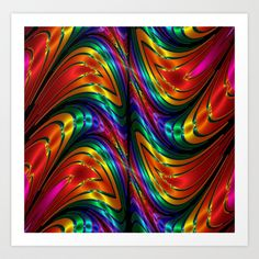 "Thanks to #Society6 for including my #Print ""#Fractal #Silk and #Metal #Colors #Waves"" on the #Society6_Shop :)   http://society6.com/product/fractal-silk-and-metal-colors-waves_print#1=45"