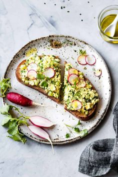 """Everything you love about egg salad, made vegan with crumbled tofu. A simple technique gives this vegan """"egg"""" salad loads of flavor. Naturally gluten-free, vegetarian, plant-based, and healthy! Tofu Recipes, Whole Food Recipes, Vegetarian Recipes, Vegan Egg Salad Recipe, Dried Tofu, Bojon Gourmet, Vegan Mayonnaise, Unprocessed Food, I Love Food"""