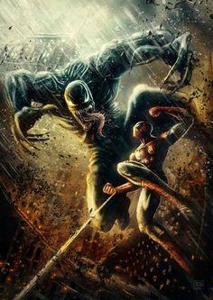 Venom vs Spider-Man pic.twitter.com/4w5YoCdXMg