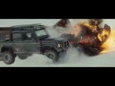 Get behind the action! See our Land Rover Defender and Range Rover Sport SVR in the latest James Bond 007 adventure SPECTRE TV advert. Defender Film, James Bond 007 Spectre, Aston Martin Db10, Bond Series, Tv Adverts, Cinematography, Monster Trucks, Action, Cars