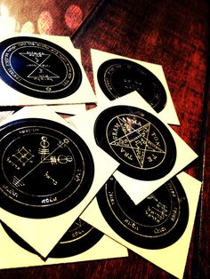 Solomon Seals Pack by WitcheryWay on Etsy