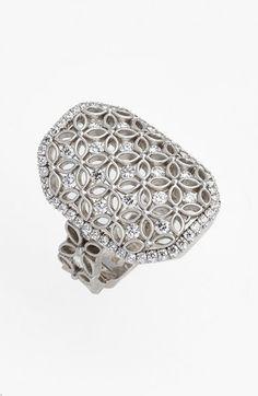 Jack Kelége Jack Kelege Diamond Cocktail Ring available at #Nordstrom