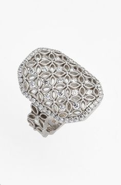 Jack Kelége Jack Kelege Diamond Cocktail Ring available at #Nordstrom