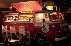 VW Camper Bar. Complete with Disco Ball