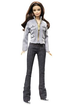 The movie Twilight tells the tale of teenage romance between mortal Bella Swan and the intriguing and dazzlingly beautiful vampire, Edward Cullen. With long brunette locks, an innocent expression, and her trademark outfit from the film (stylish jeans, sneaks, and a gray jacket), the Twilight Bella doll epitomizes her namesake. Add both dolls to your collection to reunite them for eternity!