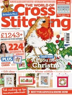 The World of Cross Stitching Issue 208 November 2013 Hard Copy