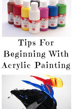 16 Tips For Beginning With Acrylic Painting - Step By Step Painting