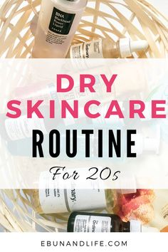 Are you in your 20s and also suffer from #dryskin? Here's the best amd most effective dry skincare routine for your 20s. #dryskincare #skincareroutine #skincareproductsthatwork #glowingskin #glowingskinroutine Skincare For Oily Skin, Oily Skin Care, Drugstore Skincare, Korean 10 Step Skin Care, The Ordinary Products, Beauty Tips For Hair, Skincare Routine, Beauty Products, Beauty Secrets