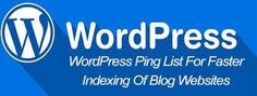 Courtesy: Bloggingtweak    WordPress Ping List  are the one of the essential things for Search En...