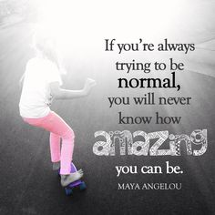 Normal is a bore. Be amazing! #ReclaimedBrands #Amazing #Normal